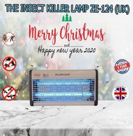 THE INSECT KILLER LIGHT ZE-124 (WHITE PAINTING) FROM THE UNITED KINGDOM